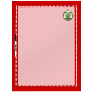 Christmas Ball #8 Dry Erase Board