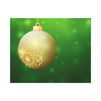Christmas Ball Canvas