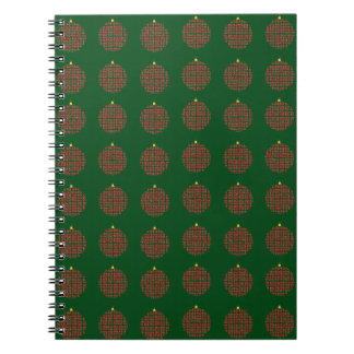 Christmas Ball Collection Notebook