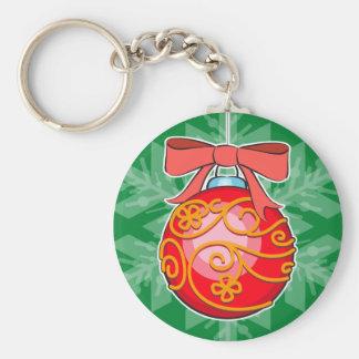Christmas Ball Key Chains