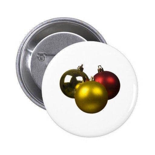 christmas ball pins