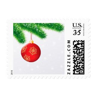 Christmas Ball Postage