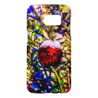 Christmas Ball Red Samsung Galaxy S7 Case
