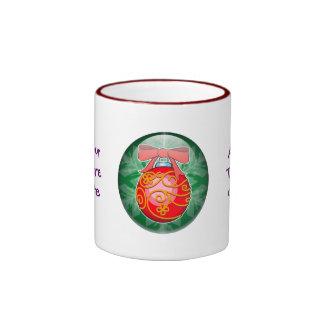 Christmas Ball Ringer Coffee Mug