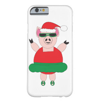 Christmas Ballet Pig Barely There iPhone 6 Case