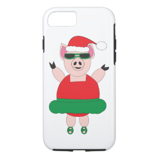 Christmas Ballet Pig iPhone 8/7 Case