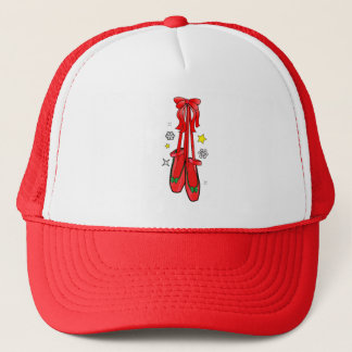 Christmas Ballet Shoes Trucker Hat