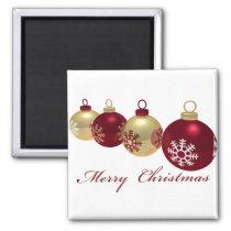 xmas, star, gold, tree, decoration, cute, art, design, red, winter, eve, happy-holidays, funny, christmas, pop, seasonal, Ímã com design gráfico personalizado