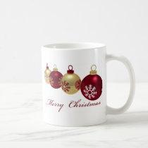 xmas, star, gold, tree, decoration, cute, art, design, red, winter, eve, happy-holidays, funny, christmas, pop, seasonal, Mug with custom graphic design