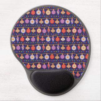 Christmas balls gel mouse pad