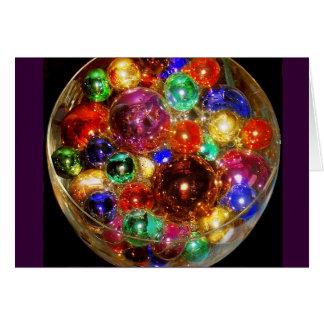 CHRISTMAS BALLS GIFT CARD