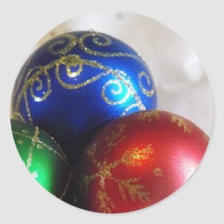 Christmas Balls - Large Stickers