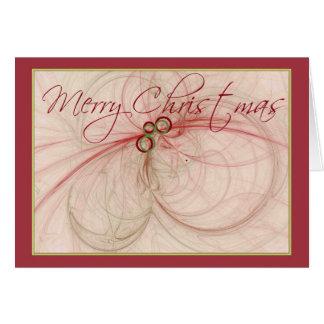 CHRISTMAS BALLS ~ Merry Christmas Card