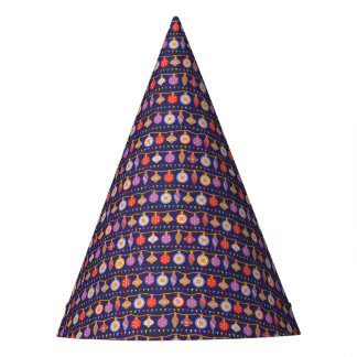 Christmas balls party hat