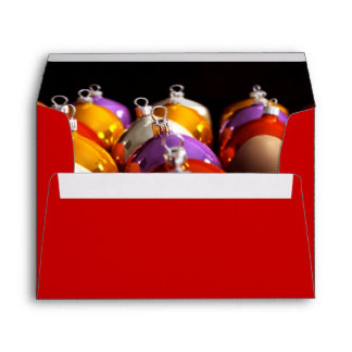 Christmas' Balls - Personalized Merry Christmas Envelope