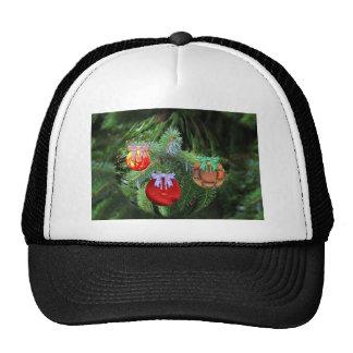 Christmas balls trucker hat