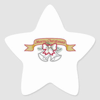 CHRISTMAS BANNER STAR STICKERS