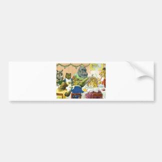 Christmas Banquet in Animal Land Bumper Sticker
