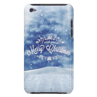 christmas barely there iPod cover