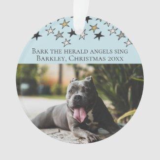 Christmas Bark The Herald Angels Sing Dog