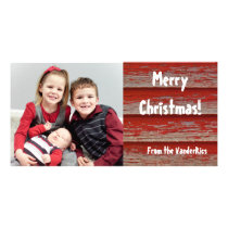 Christmas Barn Card