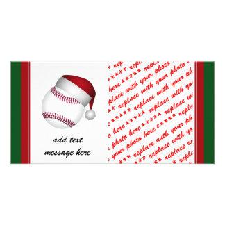 Christmas Baseball Card