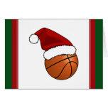 Christmas Basketball Card
