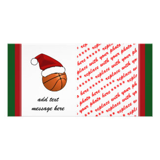 Christmas Basketball Card