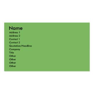 Christmas - Basset Hound X Business Card Template