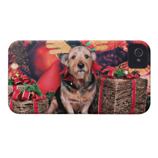 Christmas - Basset Hound X iPhone 4 Covers