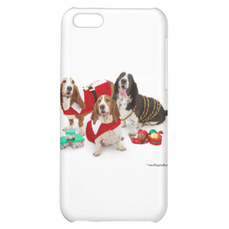christmas bassets iPhone 5C covers