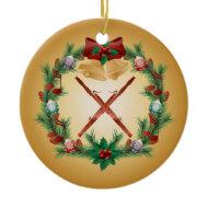 Christmas Bassoon Ornament Music Gift