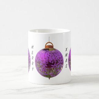 Christmas bauble allium mugs