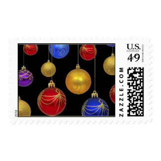 Christmas Bauble Holiday Stamp