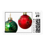 Christmas Bauble Holiday USPS Postage Stamp