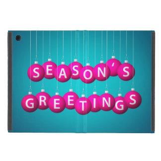 Christmas bauble iPad mini covers