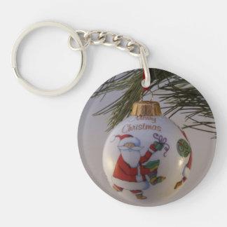Christmas Bauble Keychain