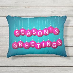 christmas bauble outdoor pillow - Christmas Outdoor Pillows