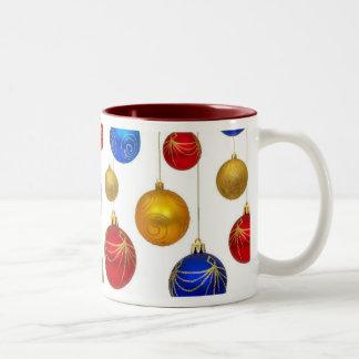 Christmas bauble Two-Tone coffee mug