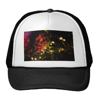Christmas Bauble with Fairy Lights Trucker Hat