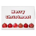 Christmas Baubles Cards