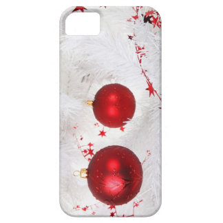 Christmas Baubles Case-Mate iPhone 5 Barely There iPhone SE/5/5s Case