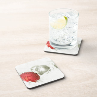 Christmas Baubles Drink Coaster