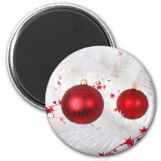 Christmas Baubles Magnet