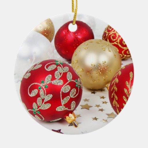 Christmas Baubles Ornament