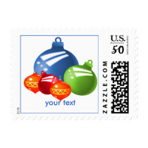 Christmas baubles postage
