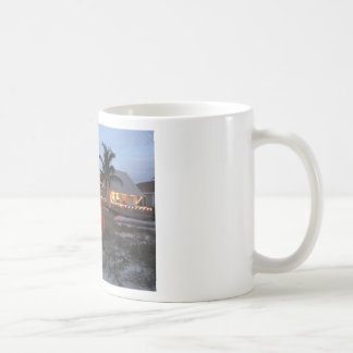 Christmas Beach Cottage Coffee Mug