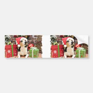 Christmas - Beagle - Bailey Bumper Stickers