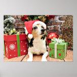 Christmas - Beagle - Bailey Posters
