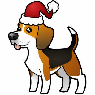 Christmas Beagle Clipart.Beagle Christmas Photo Statuettes Cutouts Sculptures Zazzle